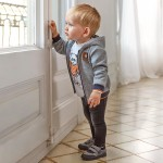 Дълъг панталон деним за бебе момче