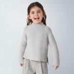 Пуловер с пайети за момиче