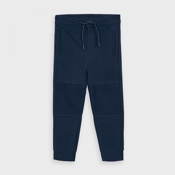 Дълъг комбиниран панталон от плюш за момче