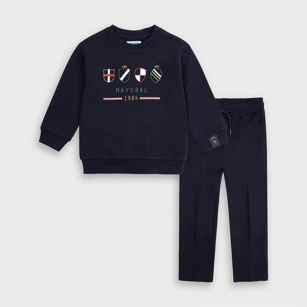 Комплект панталон и пуловер за момче