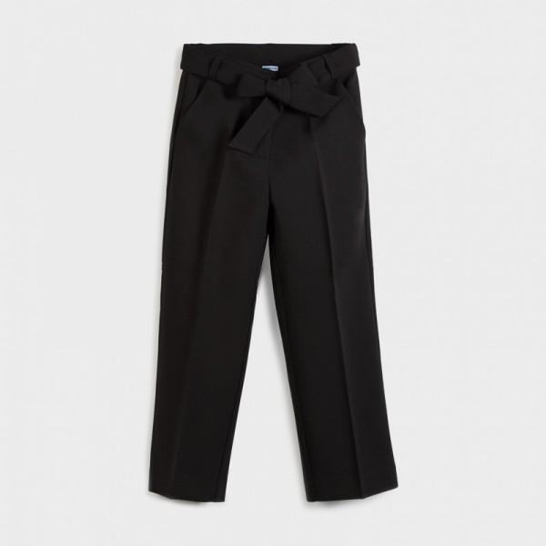 Елегантен  панталон с ръб за момиче