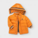 Подплатено яке за бебе момче с цветни детайли