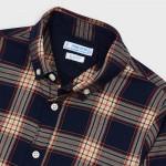 Риза на карета с дълъг ръкав за момче