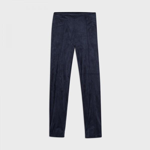 Дълъг велурен панталон за момиче