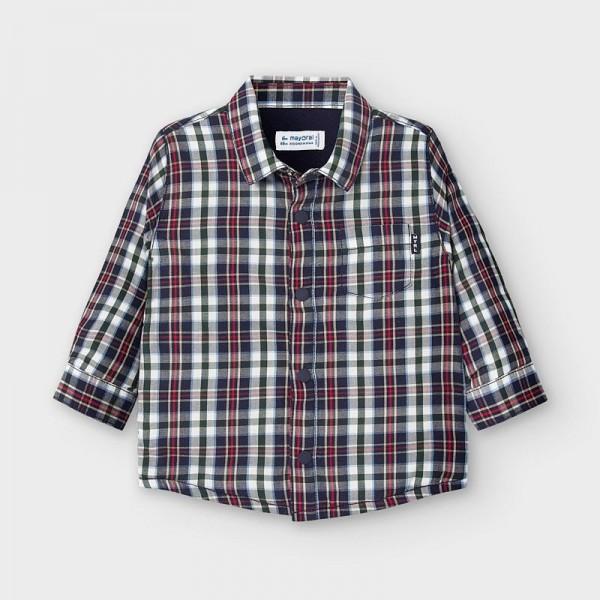 Връхна риза с подплата за бебе момче