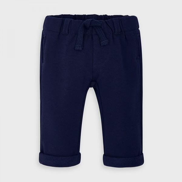 Памучен панталон за новородено момче