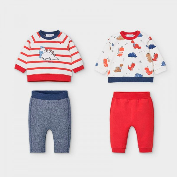 Комплекти с щампи за новородено момче