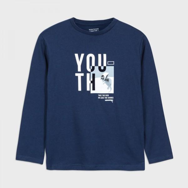 """Блуза """"YOU"""" за момче - тийн серия"""
