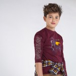 Блуза с принт мотор за момче - тийн серия