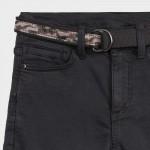 Дълъг панталон straight fit с колан за момче
