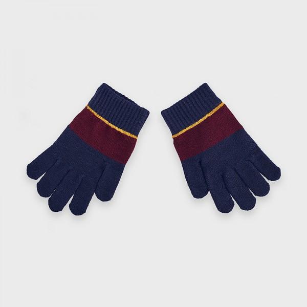 Трицветни ръкавици за момче