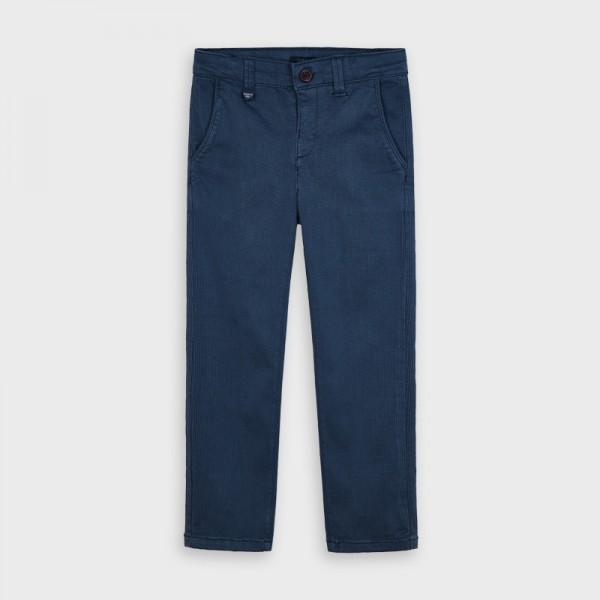 Дълъг прав панталон с щампи за момче