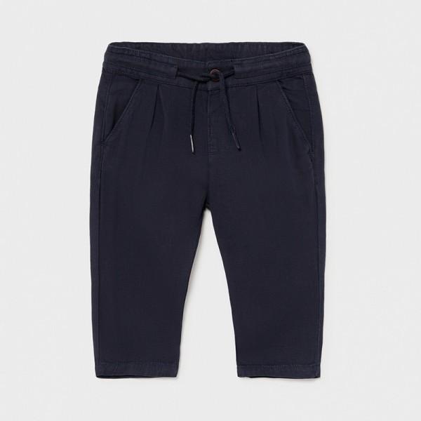 Ежедневен панталон от лен за бебе момче