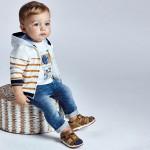 Панталон soft denim Ecofriends за бебе момче