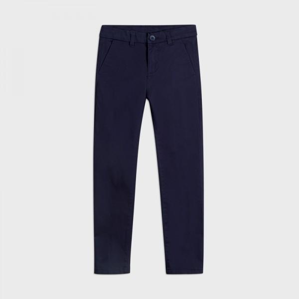 Основен прав панталон slim fit за момче- тийн серия