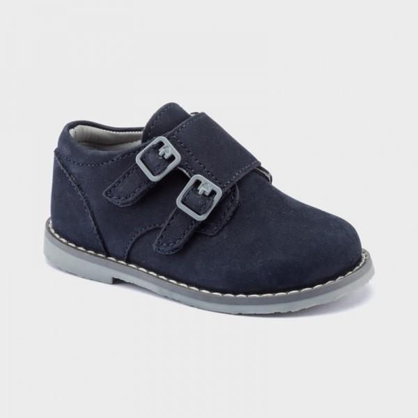 Обувки тип blucher с велкро за бебе момче