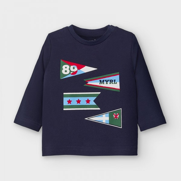 Блуза знамена за бебе момче