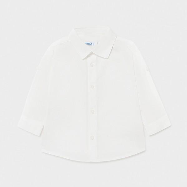 Риза лен за бебе момче