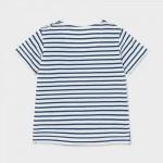 Тениска SOY CAPITAN на райета за бебе момче