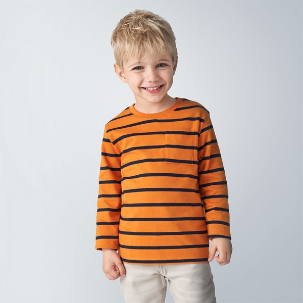 Комплект от две блузи райе за момче