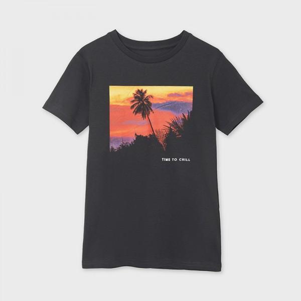 Тениска с фото принт от устойчив памук ECOFRIENDS за момче-тийн серия