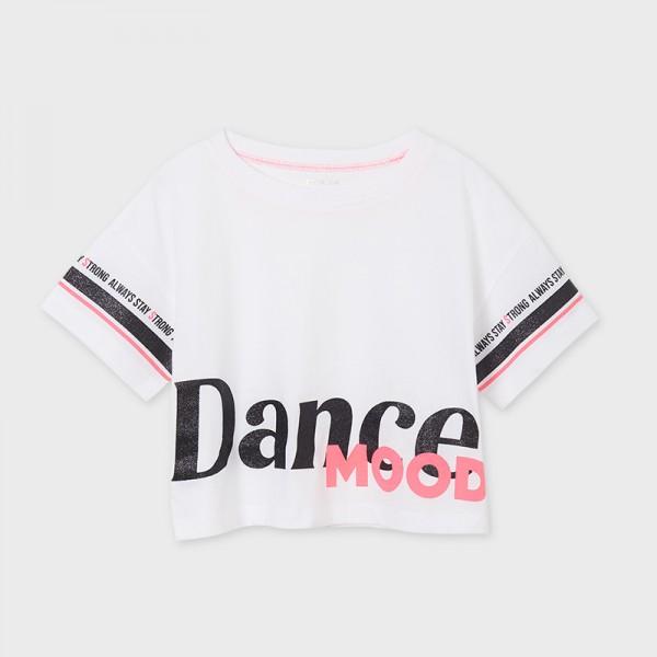 Тениска Ecofriends Dance Mood за момиче-тийн серия