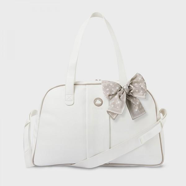 Чанта за майки с панделка