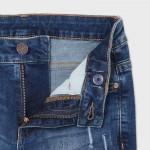 Дънков панталон ECOFRIENDS straight fit  за момче
