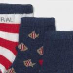Комплект от 6 чифта чорапи за новородено момче