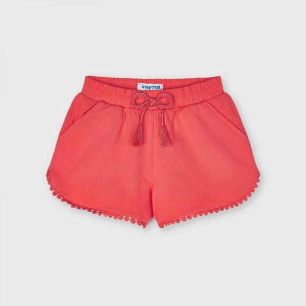 Къси панталонки с орнаменти- тип шорти за момиче