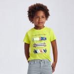 """Тениска ECOFRIENDS с къс ръкав """" skateboards"""" за момче"""
