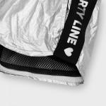 Къс метализиран панталон за момиче