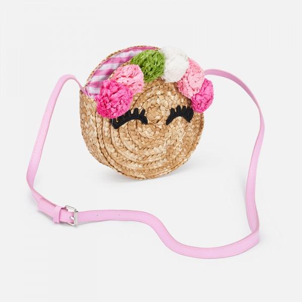 Чанта с цветя за момиче