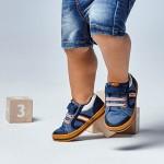 Спортни обувки от памук ECOFRIENDS за бебе момче