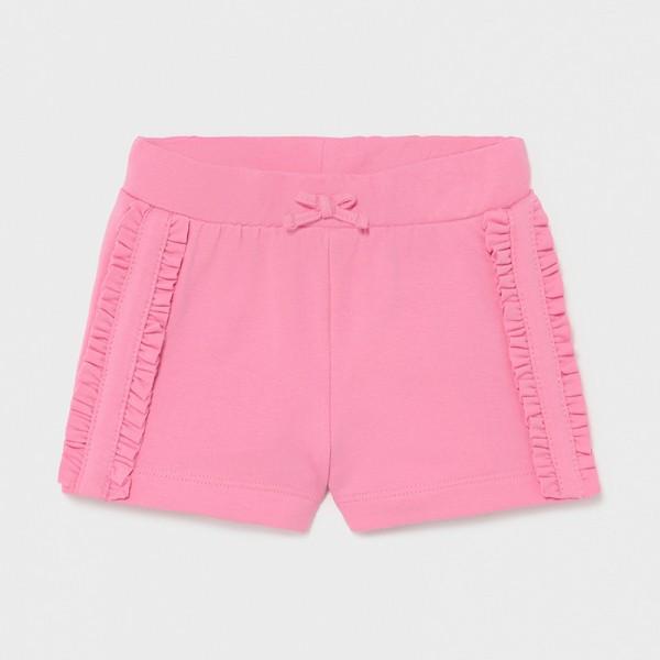 Къси трикотажни панталонки за бебе момиче