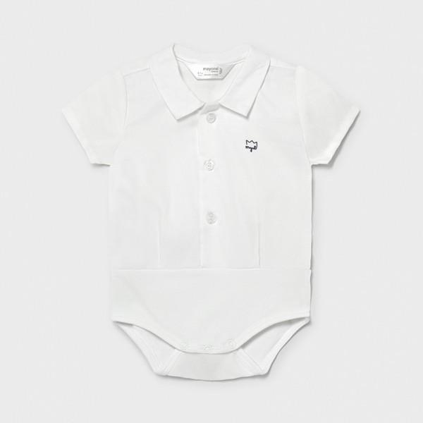 Боди тип риза за новородено момче