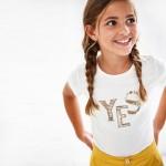 Тениска YES Ecofriends за момиче