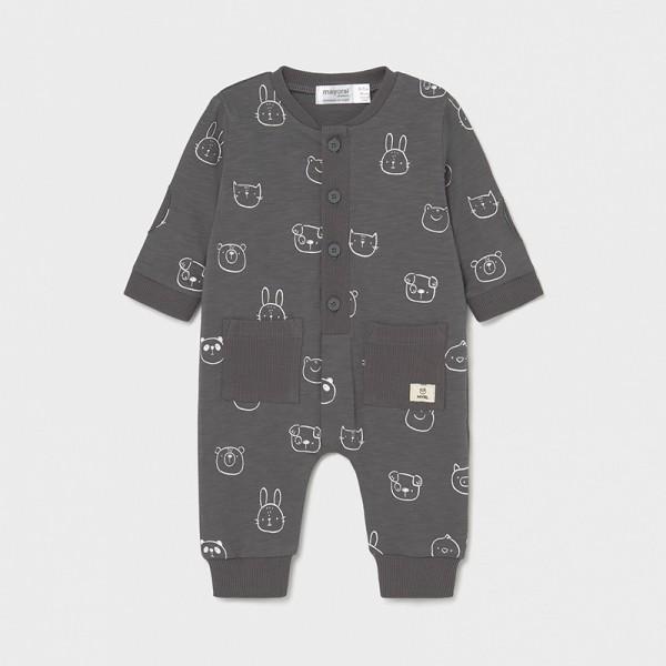 Гащеризон с джобове за новородено момче