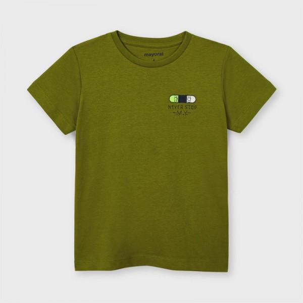 Тениска ECOFRIENDS с къс ръкав never stop