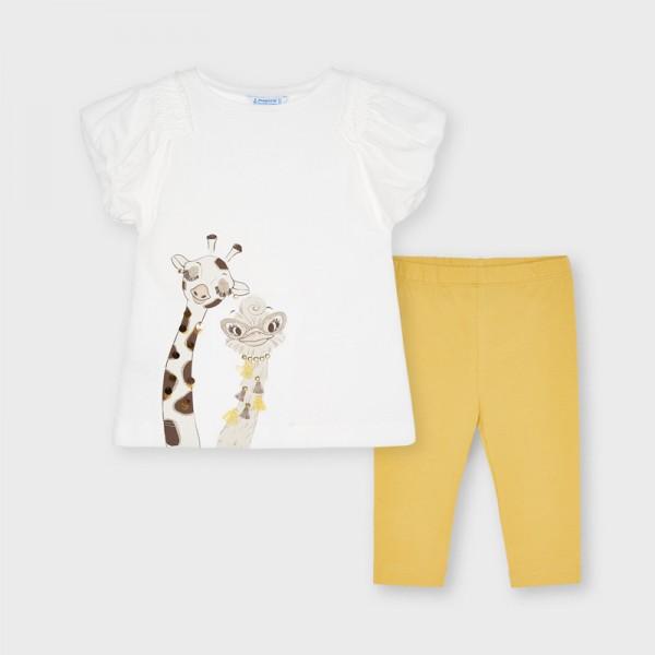 Комплект с рисунка жираф и клин