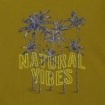 Тениска natural vibes  от памук ECOFRIENDS за момче-тийн серия