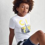 Тениска с къс ръкав CITY ECOFRIENDS за момче- тийн серия