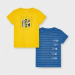 Комплект от две тениски SKATE за момче
