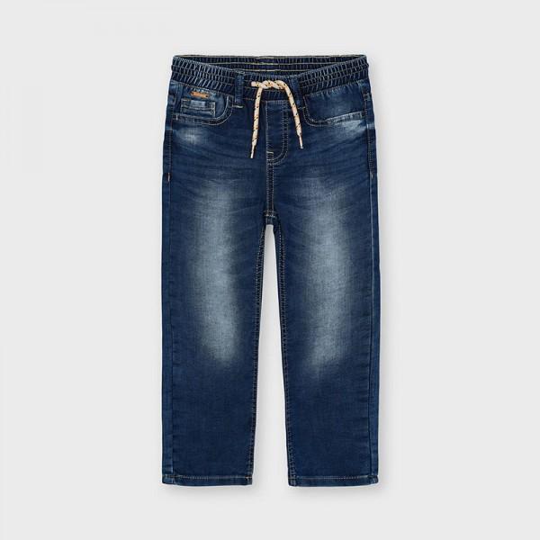 Дънков панталон тип jogger ECOFRIENDS
