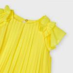 Плисирана рокля за момиче