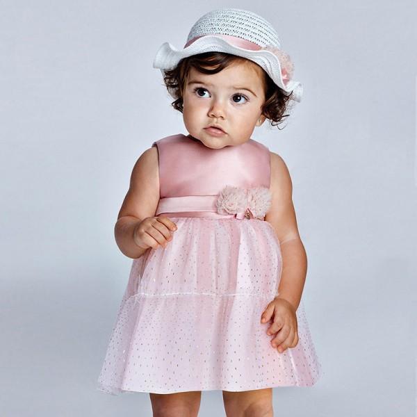 Комбинирана рокля от тюл