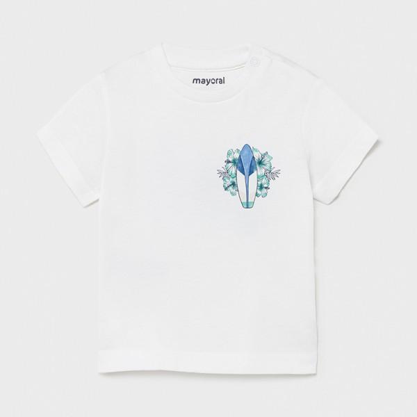 Тениска със сърф Ecofriends за бебе момче