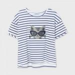 Тениска с пайети за момиче-тийн серия
