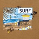 Тениска Surf от устойчив памук Ecofriends