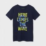Тениска wave ECOFRIENDS с къс ръкав за момче